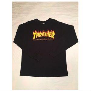 Thrasher longsleeve shirt